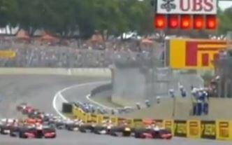 Brasil f1 race start 2012